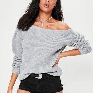 Sweaters - New with tags off shoulder sweater s/m